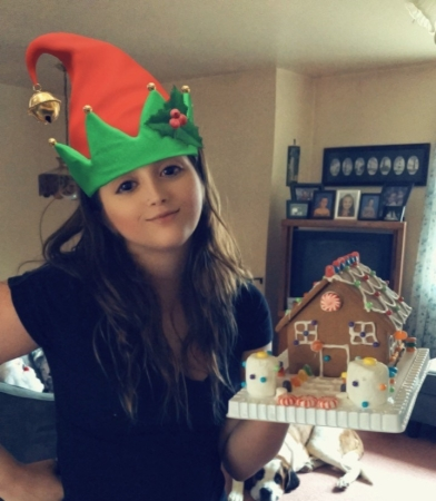 Elf Me With Gingerbread House
