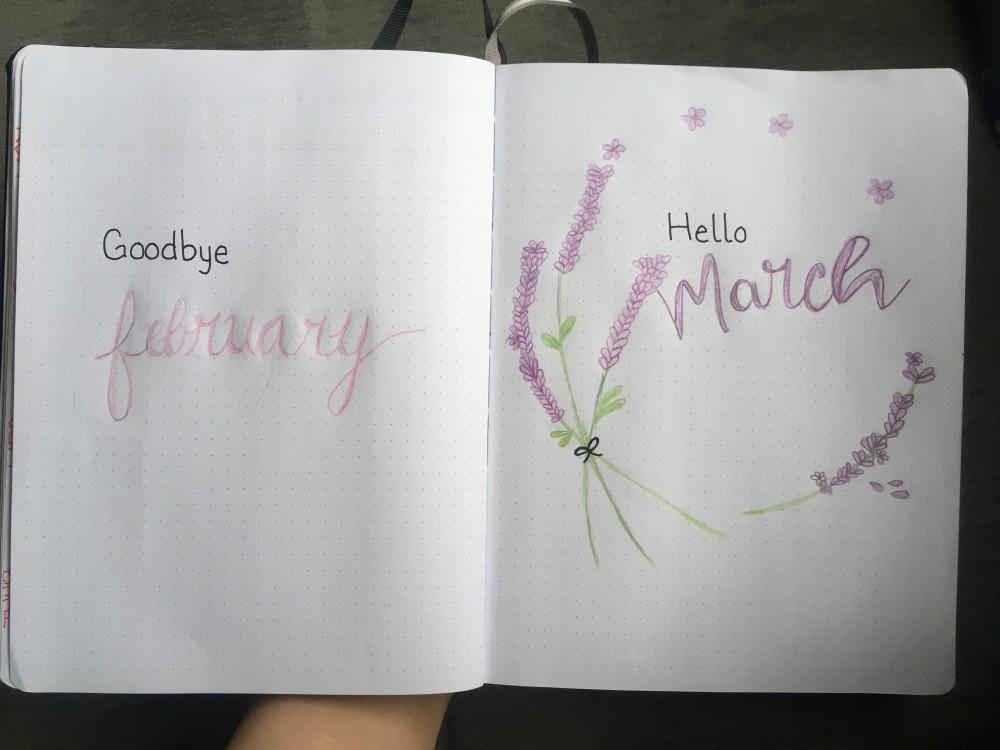 goodbye feb hello mar