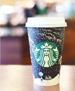 Night Sky Starbucks Reuseable Cup